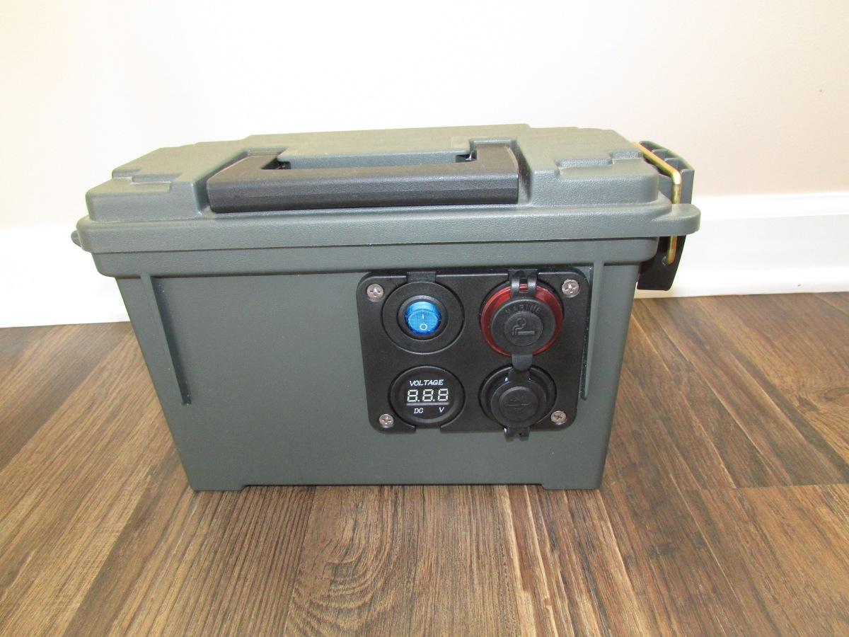 Portable Battery Power Box